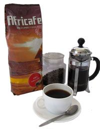 Africafe Zanzibar Blend Medium Roast 500 Grams